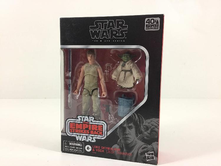 Star wars hasbro luke skywalker & yoda