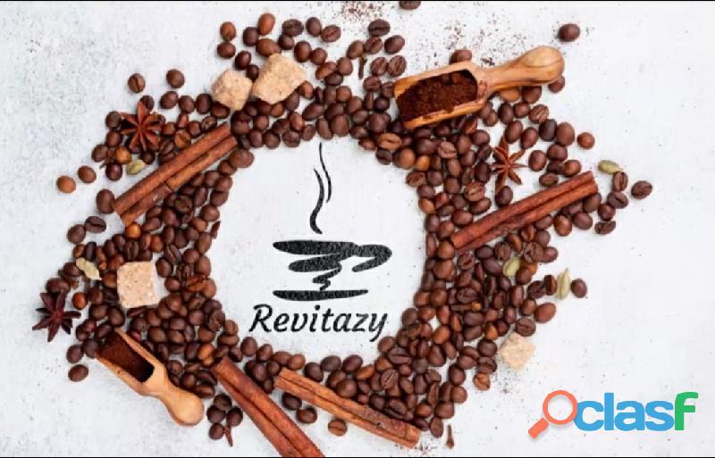 Adelgaza tomando cafe REVITAZY