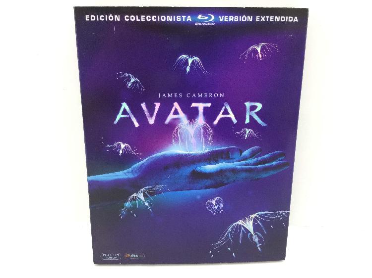 Avatar (2009) 3 disc - ed. extendida coleccionista