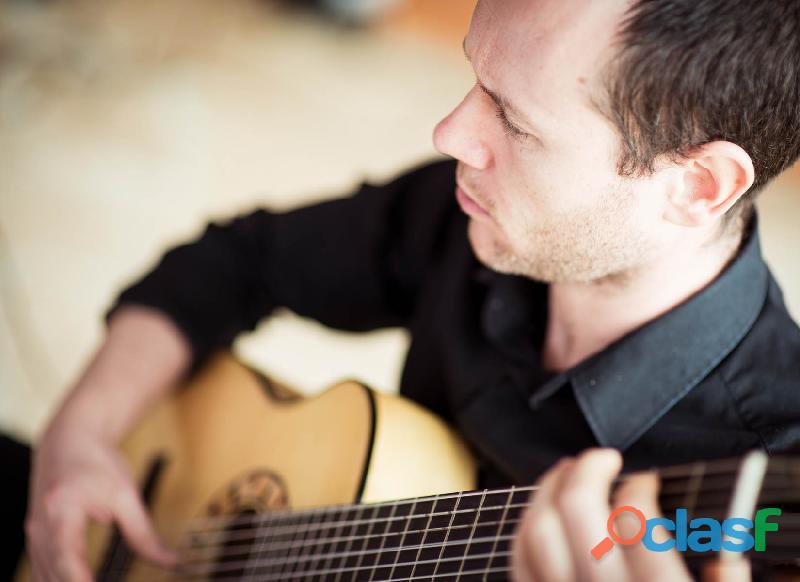 Guitarrista para bodas y actos sociales