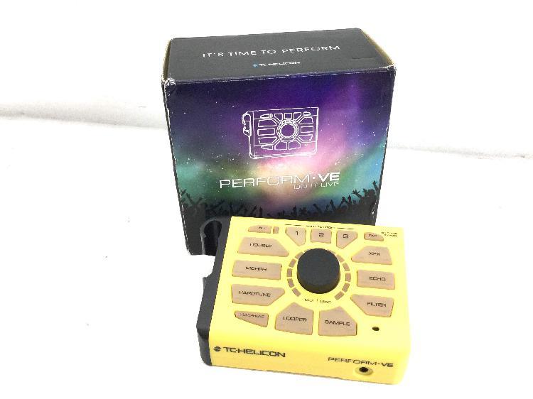 Sintetizador tc-helicon perform.ve do it live