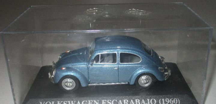 Coche vw volkswagen escarabajo beetle (1960) altaya ixo 1/43