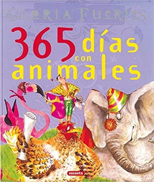 Libro 365 dias con animales segunda mano/novedad en nolotire