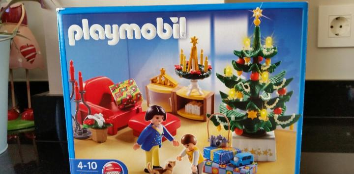 Playmobil 4892 esceña navideña descatalogada