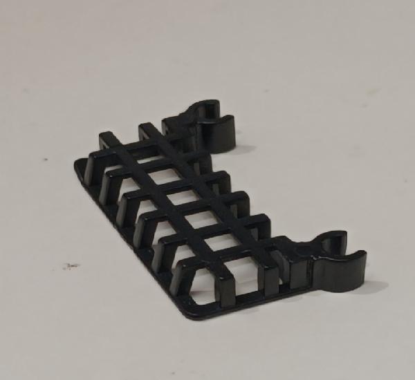Pieza playmobil cesta cesto carrito supermercado color negro
