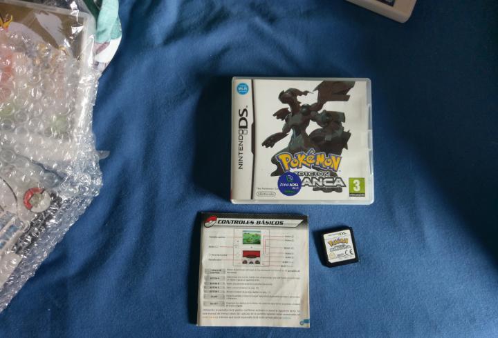 Pokemon edición blanca - nintendo ds (pal españa)
