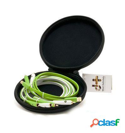 NEO CABLE RCA CLASS B STEREO PAREJA + USB 2.0